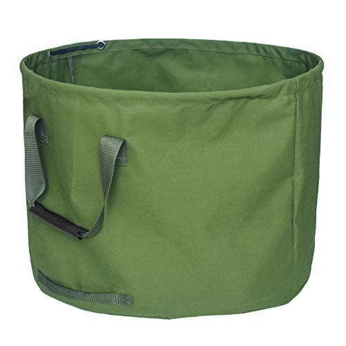 Homyl Gartensack aus robustem Tuch Selbstaufstellend, Perfekt für den großen Garten, auch als Innenraum Aufbewahrungsbeutel