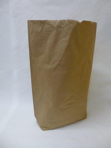 "25 St. Papier-Bioabfallsäcke 120l Format 70x95x22 cm Motiv: ""unbedruckt"", 2lagig, mit extra Bodendeckblatt"