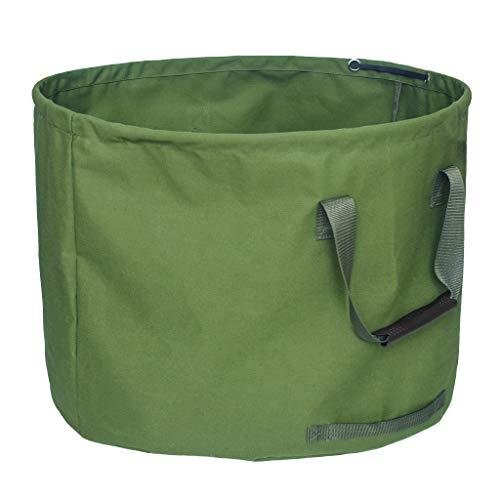 FLAMEER Laubsäcke Abfallsack Gartensäcke Gartenabfallsäck aus sehr stabile Polypropylen, Wiederverwendbar