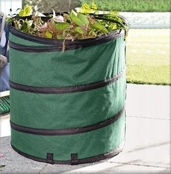 move Garten-Abfallsack Gartenabfallsack Premium Polyester Oxford 600D Qualität Laubsack Pop-Up Ø 47cm = 85 l selbststehend