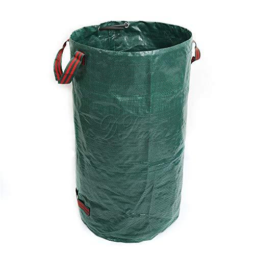 Chlyuan-Hm Gartentasche Garten-Tasche Laubbeutel-Tasche 500L Weed Tree Branch Garden erhalten Müllsack für Rasen- und Hofabfälle